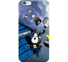 snoopy doctor who iPhone Case/Skin