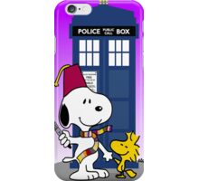 snoopy doctorwho iPhone Case/Skin