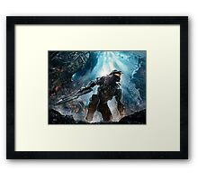 Halo Master Chief Guardians  Framed Print