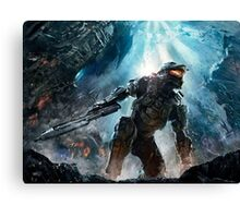 Halo Master Chief Guardians  Canvas Print