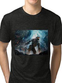 Halo Master Chief Guardians  Tri-blend T-Shirt