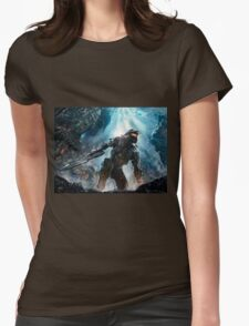Halo Master Chief Guardians  Womens Fitted T-Shirt