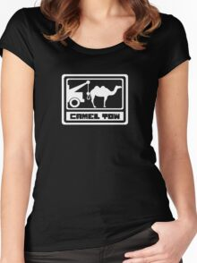 Camel Tow Funny Women's Fitted Scoop T-Shirt