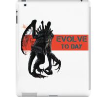 Evolve to day iPad Case/Skin