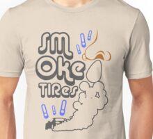 Smoke tires (6) Unisex T-Shirt