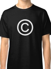 Copyright - Humorous T-Shirts Classic T-Shirt