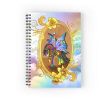Fairytale Carousel Daffodil the Painted Gypsy Spiral Notebook