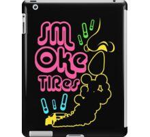 Smoke tires (7) iPad Case/Skin