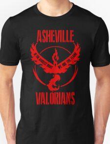 ASHEVILLE Team Valor Design #3 Unisex T-Shirt