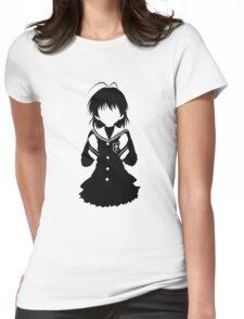 CLANNAD - Furukawa Nagisa Minimalist (Black Edition) Womens Fitted T-Shirt