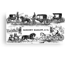 Sargent Harlow, & Co.  Canvas Print