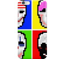Payday 2 Masks iPhone Case/Skin