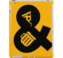 Funny Beer and Pizza iPad Case/Skin