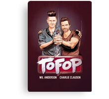 TOFOP- Gritty Rebrand Canvas Print