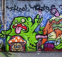 Snakes in a Lane by Chris Mitchell