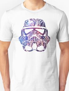 Patterned Nebula Stormtrooper Star Wars T-Shirt Unisex T-Shirt