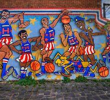 Harlem Globe Trotters by Chris Mitchell