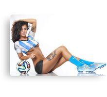 World Cup BodyPaint Canvas Print