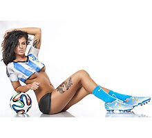 World Cup BodyPaint Photographic Print