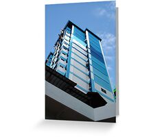 Life in the City (Print) Greeting Card