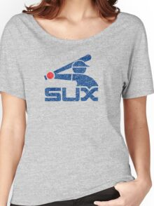 Vintage White Sux Women's Relaxed Fit T-Shirt