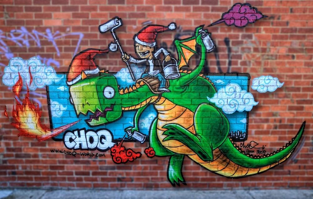Christmas Dragon by Chris Mitchell