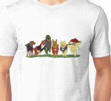 Canines Assemble! Unisex T-Shirt