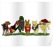 Canines Assemble! Poster