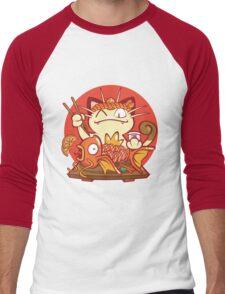 Sushi Bar  Men's Baseball ¾ T-Shirt