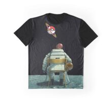 rest in space pokemon planet Graphic T-Shirt