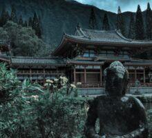 Temple of Doom Dark Buddha Sticker