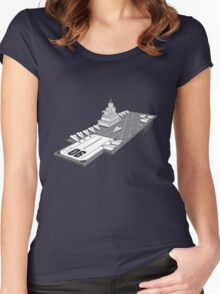 Military Wars Women's Fitted Scoop T-Shirt