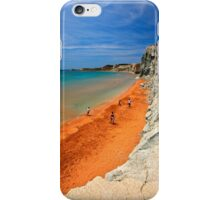 "Xi, the ""Red"" beach - Kefalonia island iPhone Case/Skin"