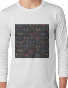 Mad Science Damask Long Sleeve T-Shirt