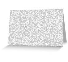 Floral Background Pattern Greeting Card