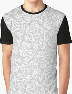 Floral Background Pattern Graphic T-Shirt