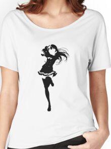 Love Live! Sunshine!! -  Tsushima Yoshiko Minimalist (Black Edition) Women's Relaxed Fit T-Shirt