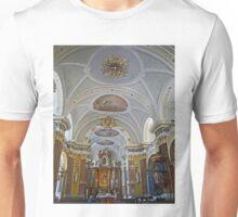 Interior of Franciscan Church, Budapest, Hungary Unisex T-Shirt