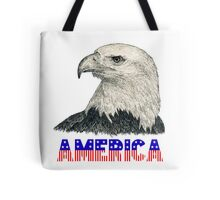 "Eagle ""America"" (stars & stripes) Tote Bag"