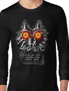 Majoras Mask - Meeting With a Terrible Fate Long Sleeve T-Shirt