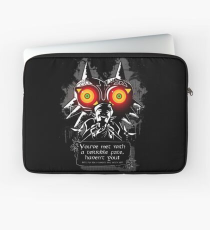 Majoras Mask - Meeting With a Terrible Fate Laptop Sleeve