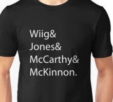 Ghostbusters Actresses Unisex T-Shirt