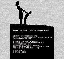 Poem - 'Your hate' Unisex T-Shirt