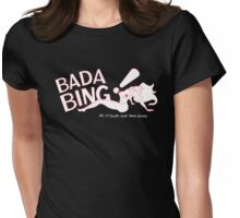 Bada Bing - Standard Logo & Address Womens Fitted T-Shirt