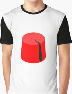 Red Fez of the Moors | Moorish American Clothing Graphic T-Shirt