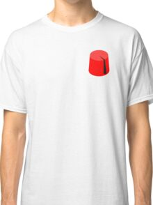 Red Fez of the Moors | Moorish American Clothing Classic T-Shirt