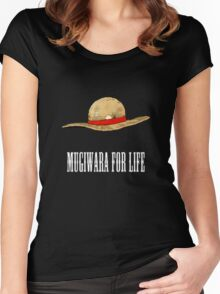 Mugiwara For Life Women's Fitted Scoop T-Shirt