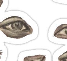 Eyes eyes eyes Sticker