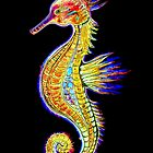 Neon Seahorse by Linda Callaghan