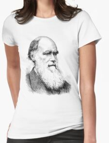 Charles Darwin Womens Fitted T-Shirt